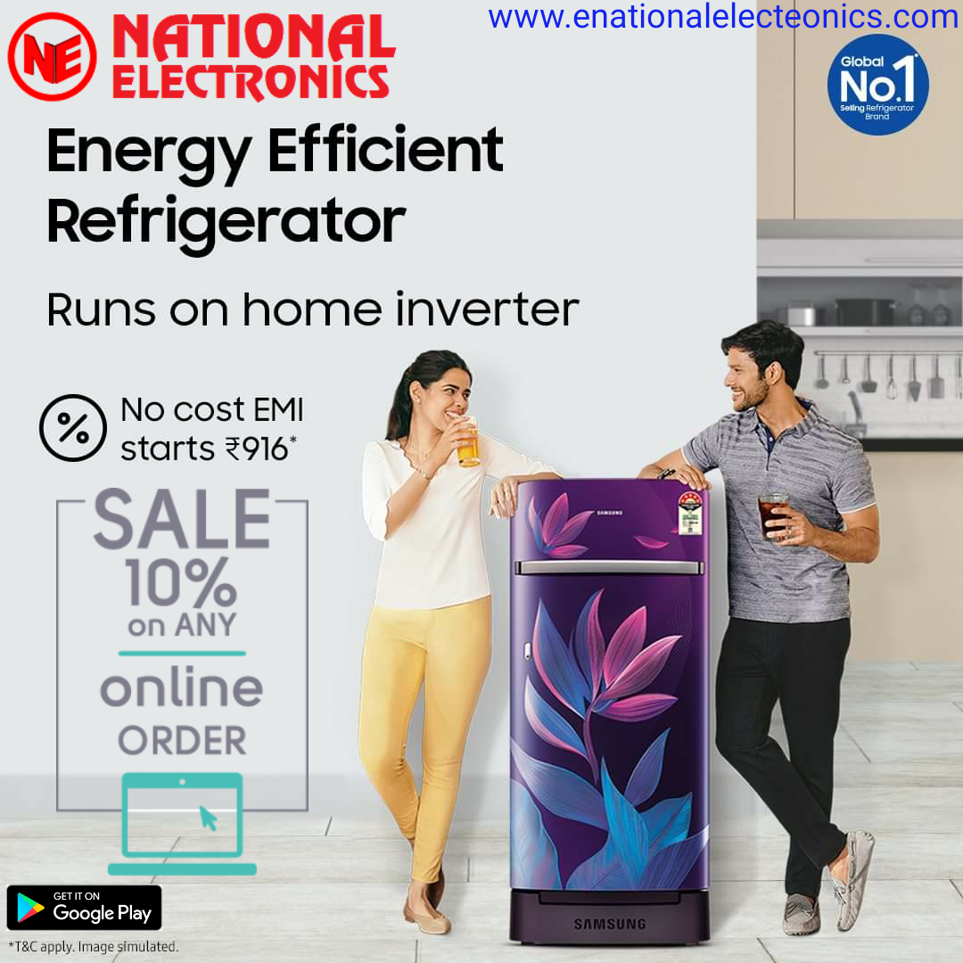National Electronics refrigerator Price